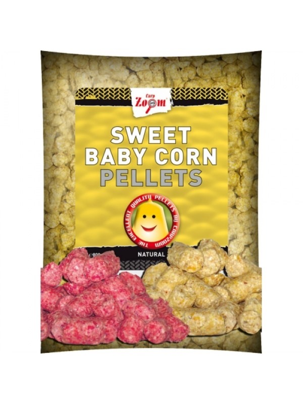 Sweet baby corn pellets - 800 g, Jahoda