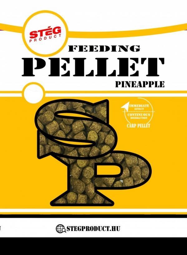Feeding pellet - 800 g, 2 mm, Ananás