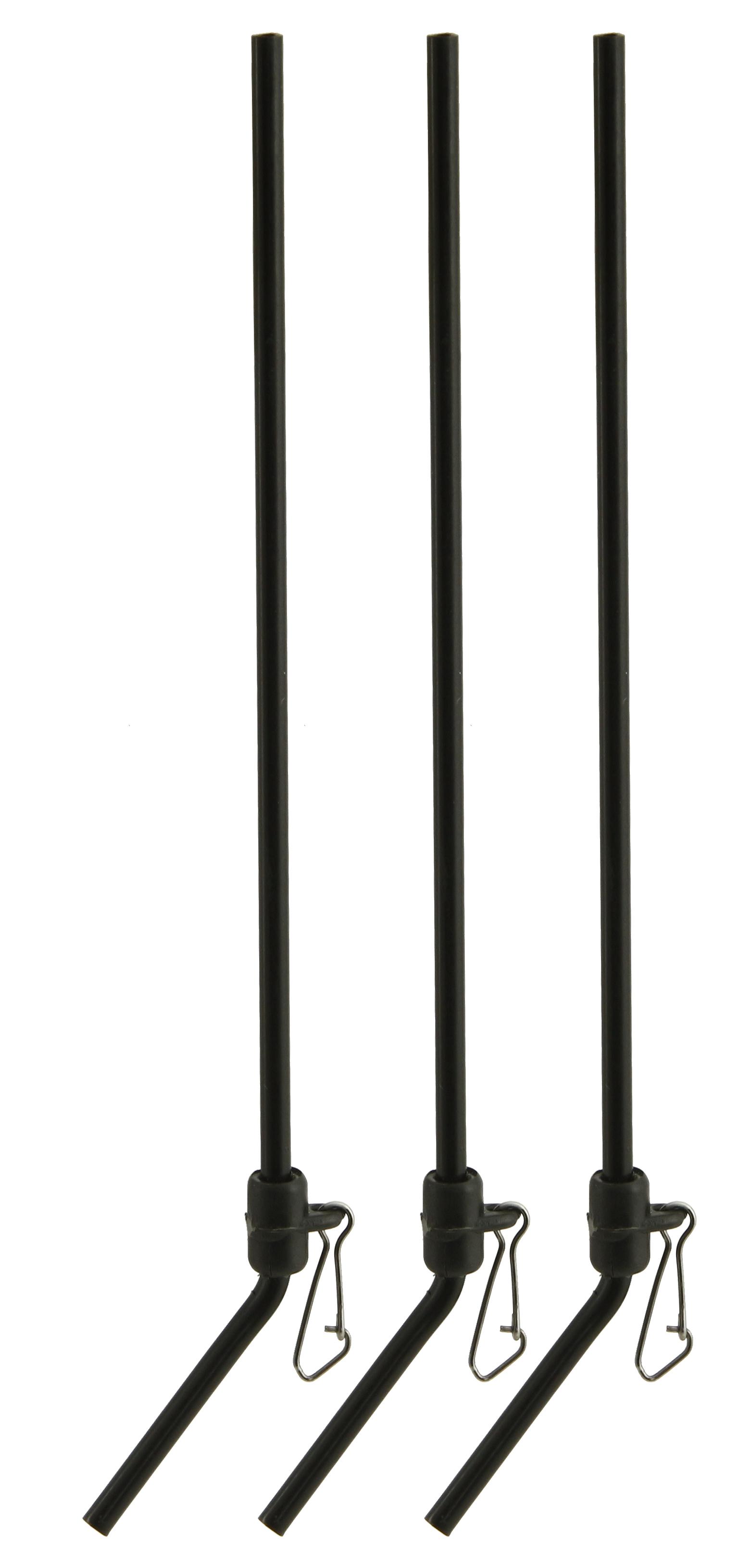 Proti uzlová tyčinka z karabínkou, 20 cm, 3