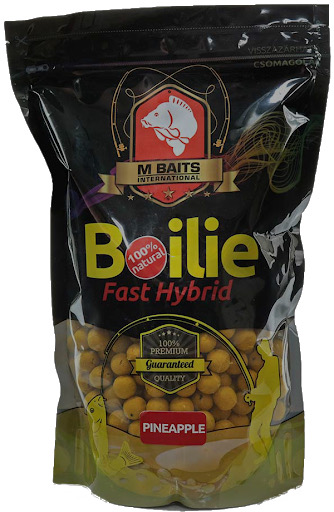 Boilie fast hybrid - 1000 g, 20 mm, Tutti frutti