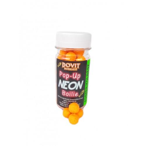 Pop up neon boilie - 40 g, 10 mm, Čučoriedka, kalmar
