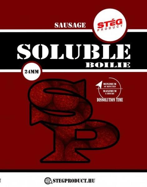 Soluble boilie - 1000 g, 23 mm, Klobás