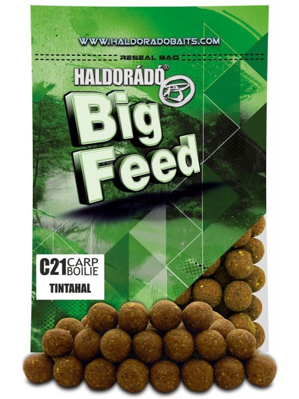 Big feed C21 carp boilie - 800 g, Kalamar